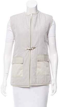 Nomia Quilted Twill Vest w/ Tags