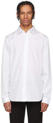 Christian Dior White Logo Signature Shirt