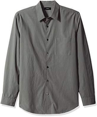 Theory Men's Long Sleeve Brushed Dress Shirt
