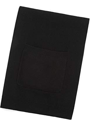 Alexander Wang Cashwool Knit Scarf With Patch Pocket Detail