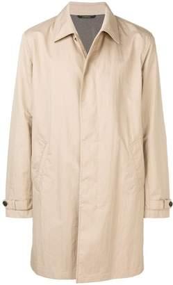 Ermenegildo Zegna plain trench coat