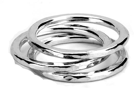 Adina Stackable Circle Rings