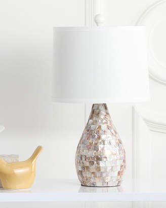 Safavieh Lauralie Capiz Shell Table Lamps Set of 2