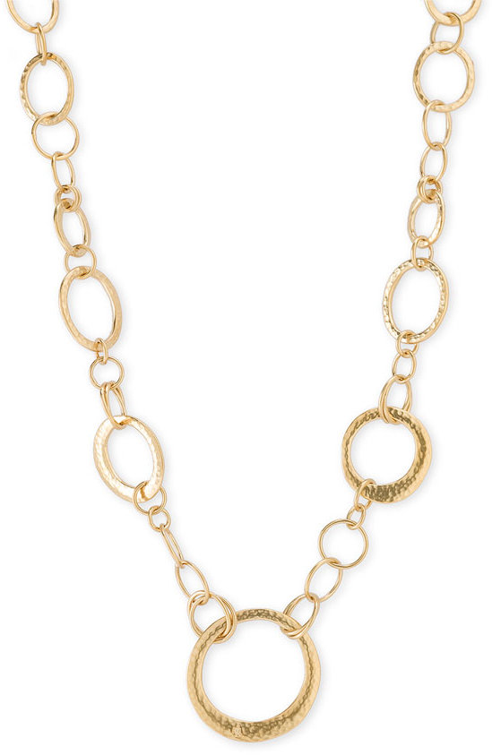 Lauren by Ralph Lauren Long Strand Interlocking Ring Necklace