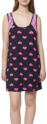 Asstd National Brand Knit Pattern Nightshirt-Juniors