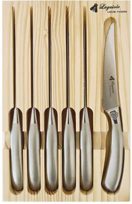 Laguiole by Louis Thiers Mondial 6 Piece Steak Knife Set