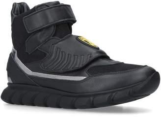 Bumper Lambo High-Top Velcro Sneakers