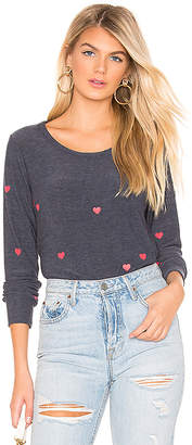 Chaser Tiny Hearts Sweater
