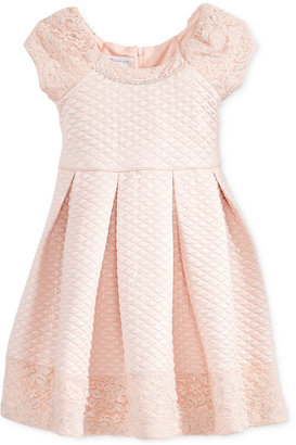 Bonnie Jean Lace-Detail Quilted Party Dress Toddler Girls & Little Girls (2T-6x) $74 thestylecure.com
