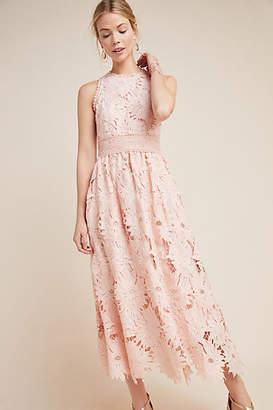 Shoshanna Chantae Lace Midi Dress