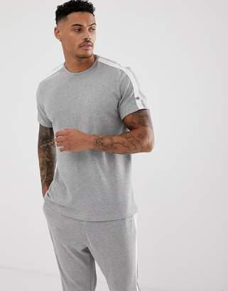 Calvin Klein Statement 1981 crew neck t-shirt in grey marl