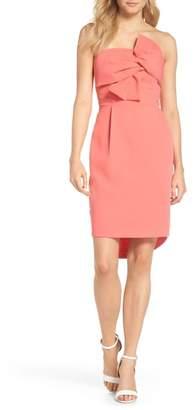 Adelyn Rae Harper Knotted Strapless Minidress