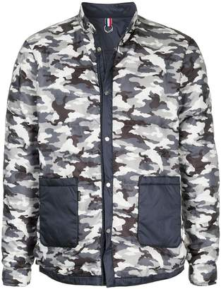 GUILD PRIME camouflage print jacket