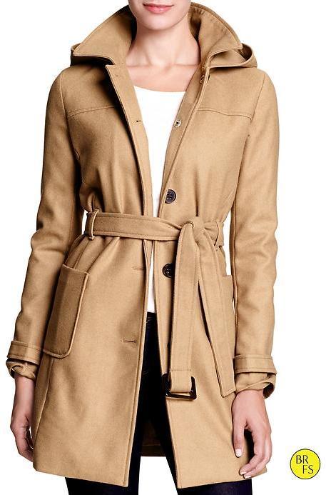 Banana Republic Factory Wool-Blend Coat