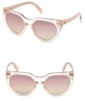 Emilio Pucci 57MM Lucite Cat Eye Sunglasses