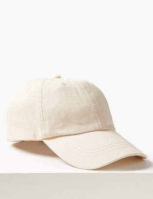 Marks and Spencer Pure Cotton Baseball Cap