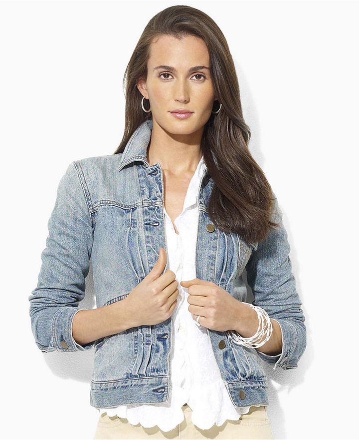 Lauren by Ralph Lauren Lauren Jeans Co. Jacket, Nancy Denim, Desert Wash