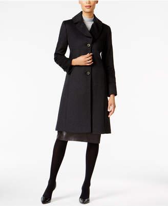 Jones New York Notch-Collar Walker Coat $360 thestylecure.com