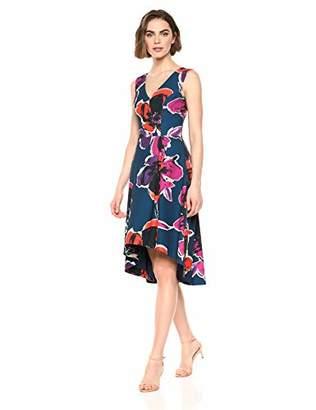 Trina Turk Trina Women's Fitzgerald Sleeveless High Low Dress