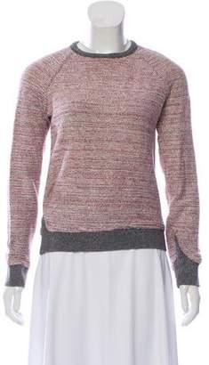 Alexander Wang Knit Scoop Neck Sweatshirt