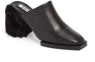 Reike Nen Faux Fur Block Heel Mule