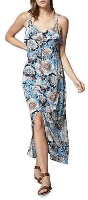 Sanctuary Isabella Floral Button-Down Maxi Dress