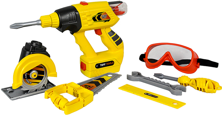 Tuff Tools Power Drill Toy Set