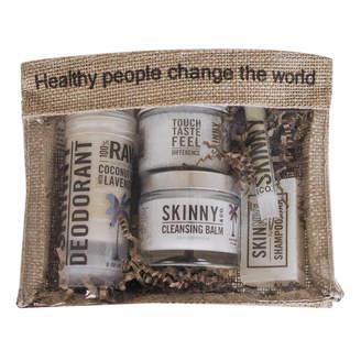 Skinny Coconut Oil Raw Beauty Travel Kit