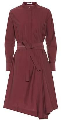 Brunello Cucinelli Cotton-blend shirt dress