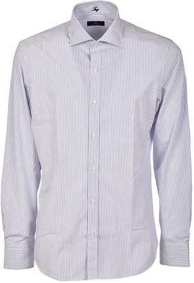 Fay Striped Pattern Shirt