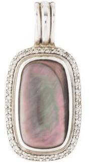 David Yurman Mother of Pearl & Diamond Pendant