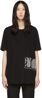 Y's Ys Black Barcode T-Shirt