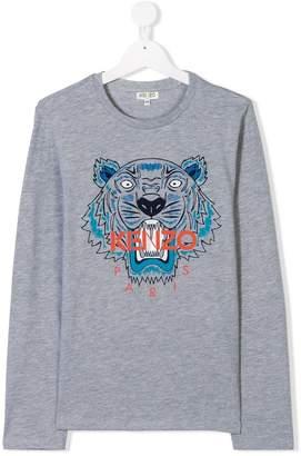 Kenzo TEEN Tiger print T-shirt