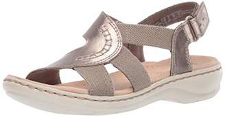 504cd53ef22 Clarks Silver Women s Sandals - ShopStyle