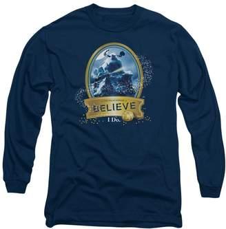 Express 2Bhip Polar Animated Adventure Movie I Do Believe Adult L-Sleeve T-Shirt