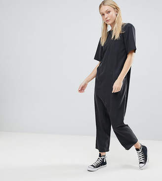 cec12ebe2f Asos Tall TALL Minimal Jumpsuit with Dropped Crotch