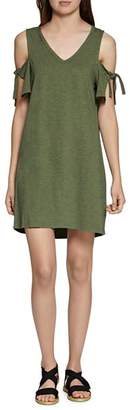 Sanctuary Lakeside Cold-Shoulder Tee Dress