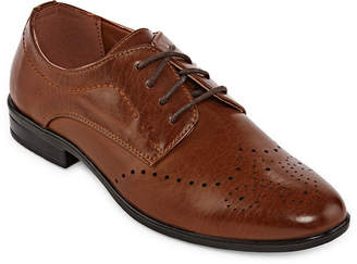 LTB STAFFORD Stafford Little/Big Kid Boys Baron Lace-up Pointed Toe Oxford Shoes