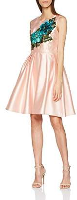 Barbarella Women's Sweet Party Dress, (Pink 11), (Size:Medium)