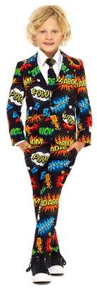 OppoSuits Oppo Badaboom Two-Piece Suit with Tie