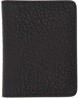 Maison Margiela (メゾン マルジェラ) - Maison Margiela ブラック バイフォールド カード ホルダー