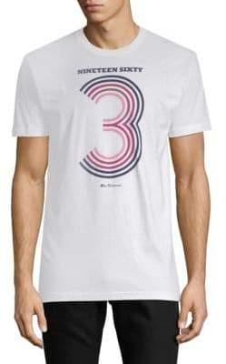 Ben Sherman Varsity Number Graphic Cotton Tee