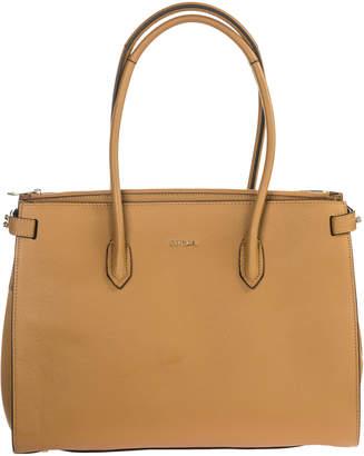 Furla Leather Handbag Shopping Bag Purse