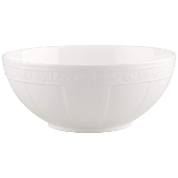 White Pearl Schüssel rund