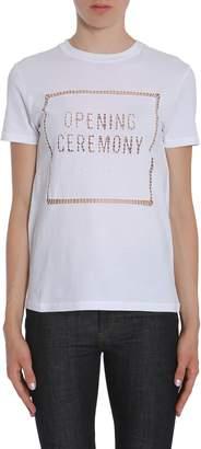 Opening Ceremony Logo Eyelet T-shirt