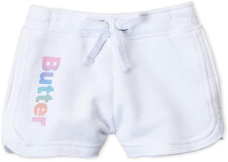 Butter Shoes Girls 4-6x) Logo Fleece Shorts
