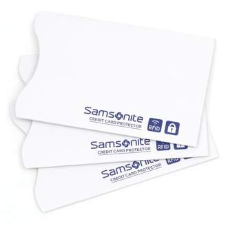 Samsonite RFID Credit Card Sleeves 3-pk.