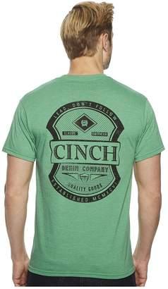 Cinch Short Sleeve Jersey Tee w/ Pocket Men's T Shirt