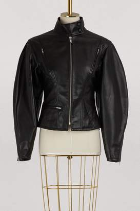 Celine Biker jacket in calfskin