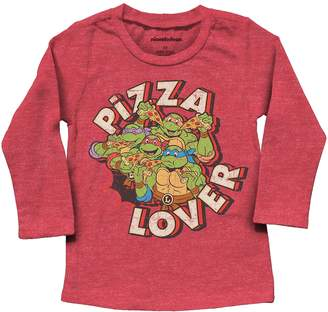 """Toddler Boy Jumping Beans TMNT """"Pizza Lover"""" Graphic Tee"""